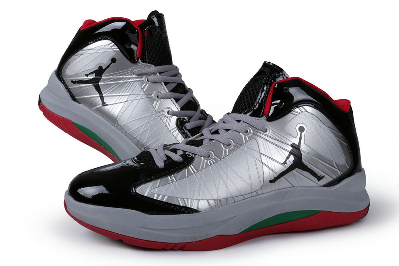 2013 Air Jordan Aero Flight Grey Black Red For Men