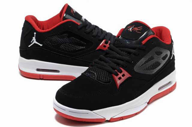 Jordan Flight 23 RST Low Black White Red