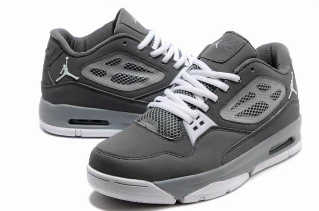 Jordan Flight 23 RST Low Grey White