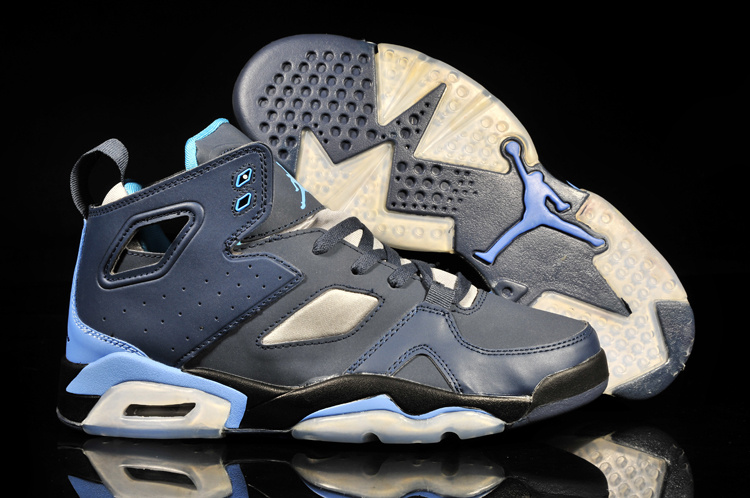2013 Jordan Fltclb '911 Black Blue White Shoes