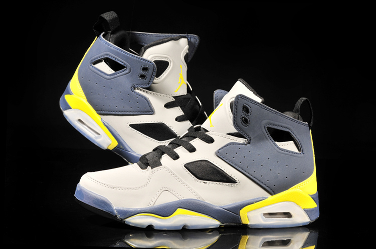 2013 Jordan Fltclb '911 Brown Blue Yellow Shoes