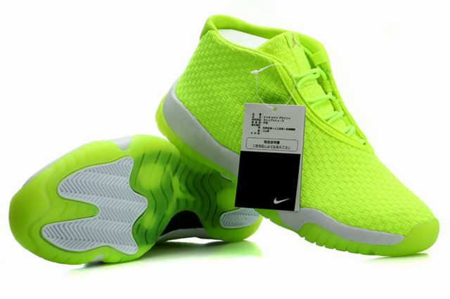 Air Jordan Future Glow Volt Gray