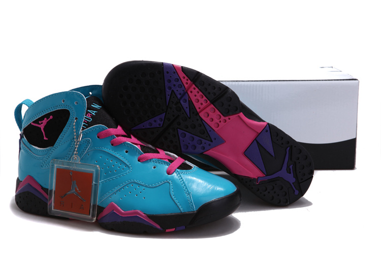 2015 Real Air Jordan Hardcover Blue Pink Black For Women