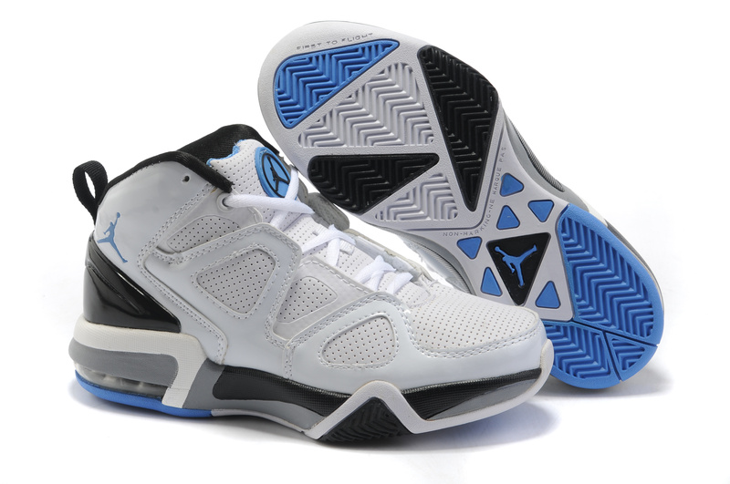 Jordan Old School II White Black Blue