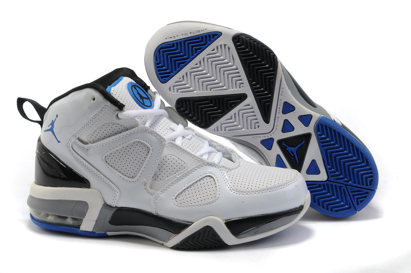 Jordan Old School II White Black Dark Blue