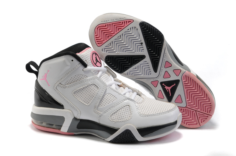Jordan Old School II White Black Pink