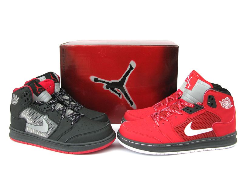 Air Jordan Prime 5 Coutdown Package Black Red Shoes
