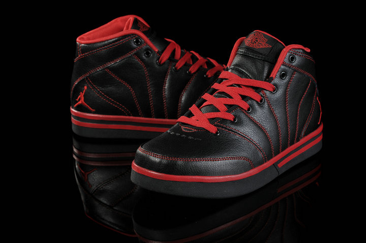 Authentic Jordan Pro Classic Black Red For Women