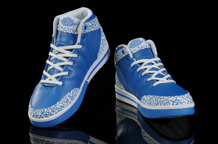 Authentic Jordan Pro Classic Blue White Cement For Women
