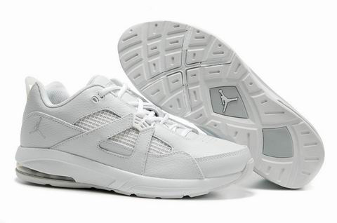 Jordan Q4 All White Shoes