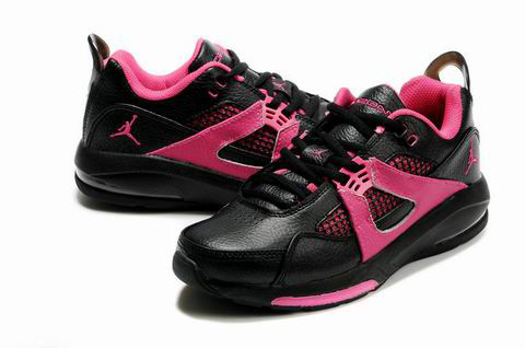 Jordan Q4 Black Pink Shoes