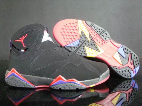 Cheap Original Jordan Retro 7 Dark Red Blue