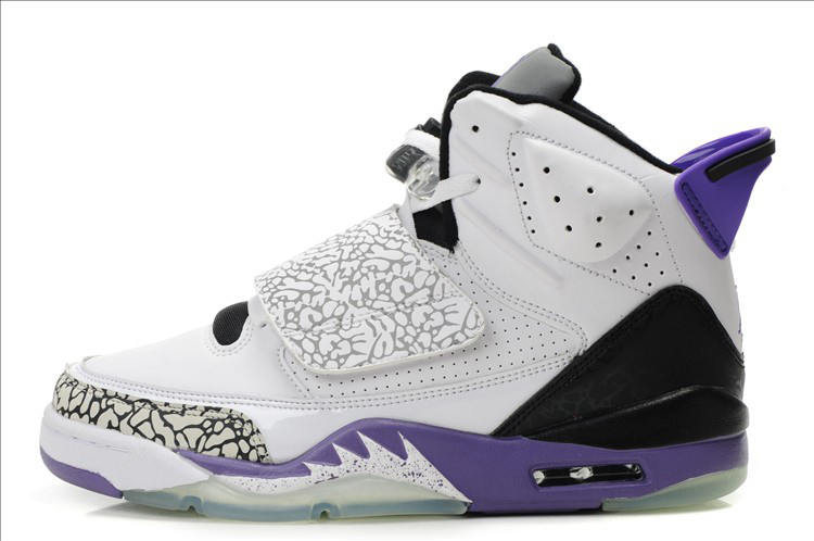 Cheap Jordan Son Of Mars White Black Purple