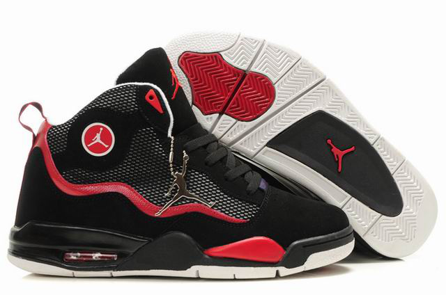Special Jordan TC8 Black Red White Shoes