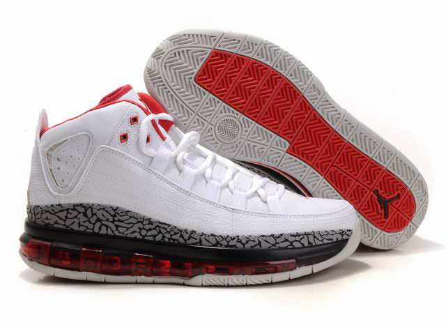 2012 Jordan Take Flight White Cement Red Shoes