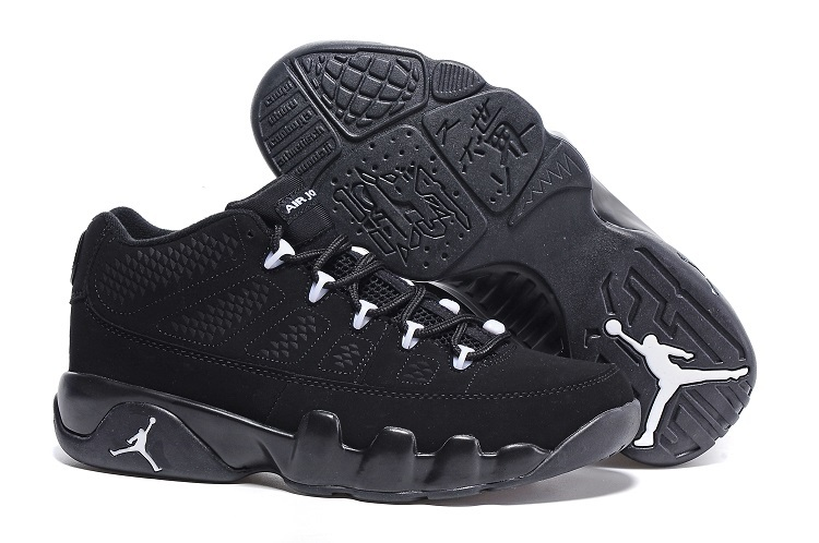 Cheap Nike Air Jordan 9 Retro Low Anthracite Black White