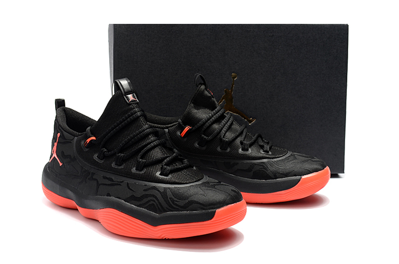 Jordan Griffin 2018 Low Black Red Shoes