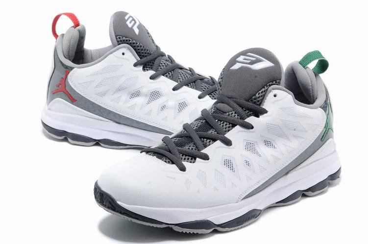 2013 Jordan CP3 VI White Grey Basketball Shoes