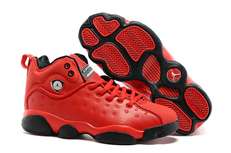 Jordan Jumpman Team 2 GS Raging Bull All Red