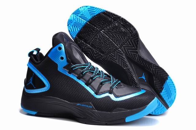 Jordan Super Fly 2 PO Black Dark Powder Blue