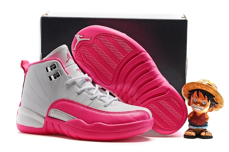 Kids Air Jordan 12 Retro Vivid Pink 2016