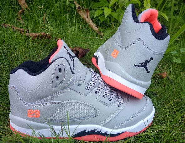 Kids Air Jordan 5 Retro Hot Lava