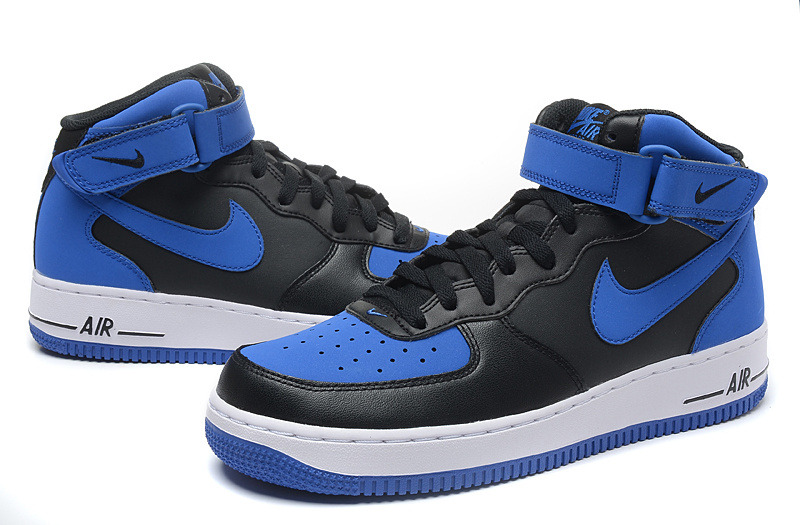 Men Air Jordan 1 Retro Magic Strap Black Blue