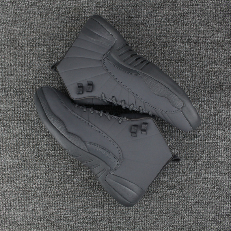 Men 2017 Air Jordan 12 Full Grey Shoes