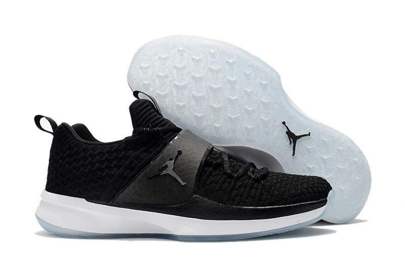 Men Jordan Trainer 2 Black White Shoes