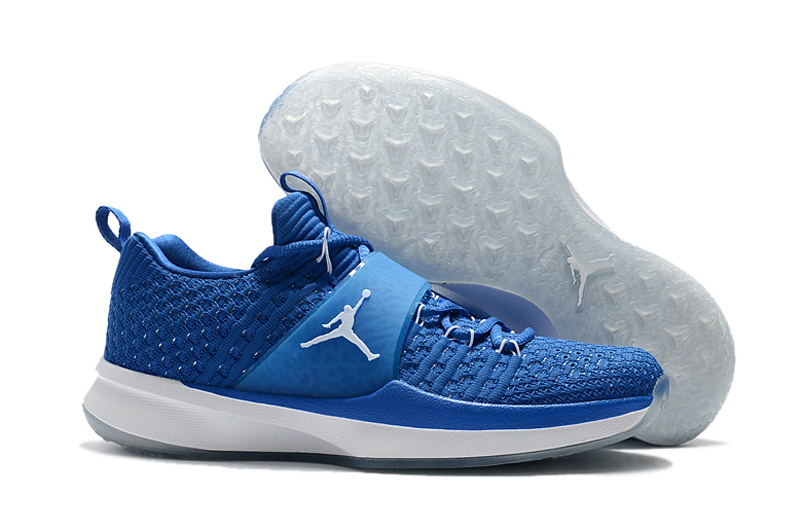 Men Jordan Trainer 2 Blue White Shoes