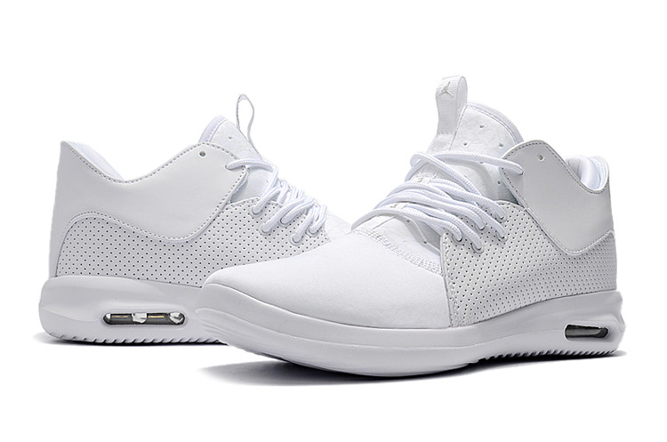Mens Jordan Running Shoes 2018 All White