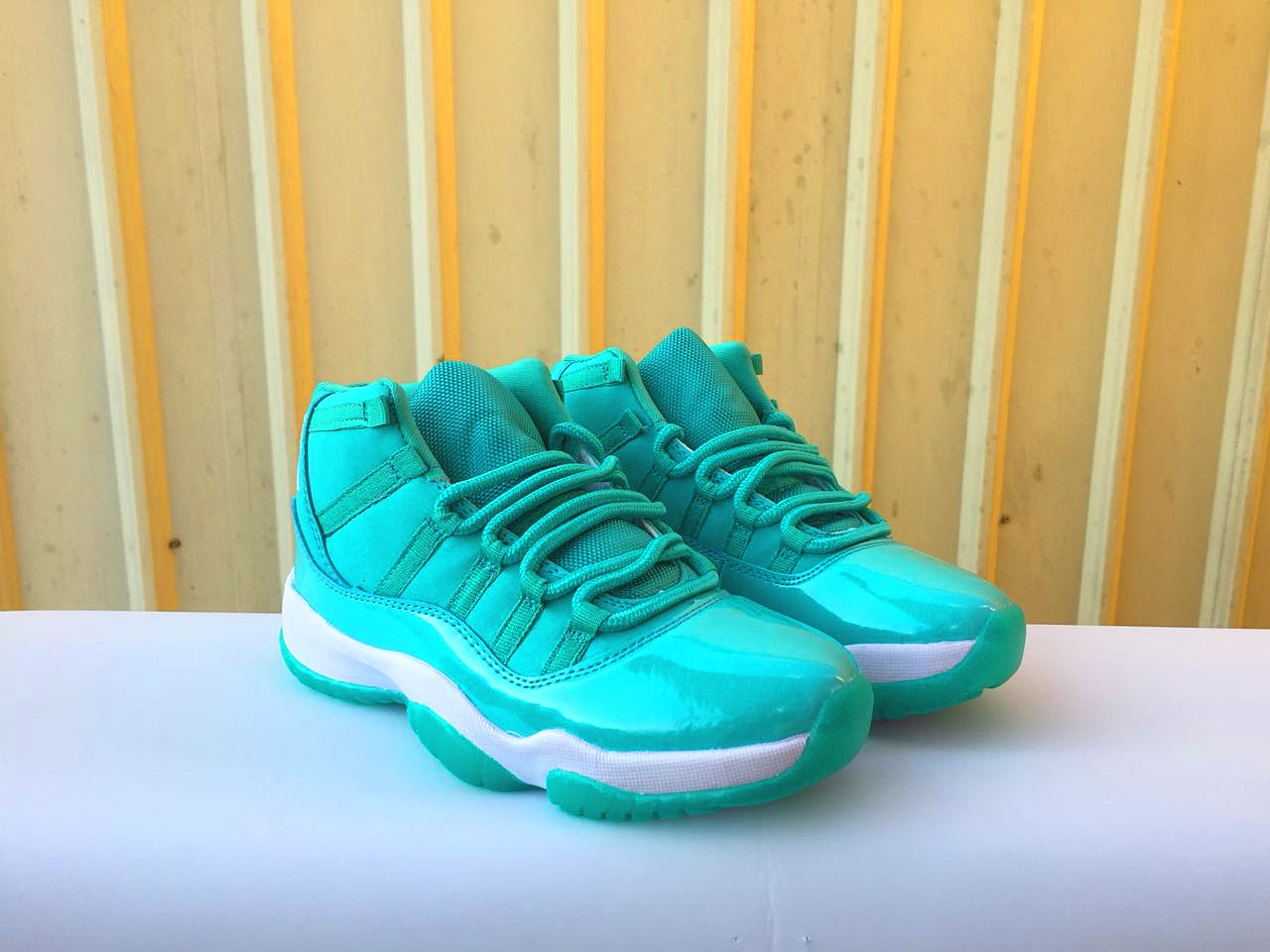 New Air Jordan 11 Retro Gint Green For Women