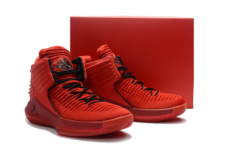 New Air Jordan XXXII Red Black For Women