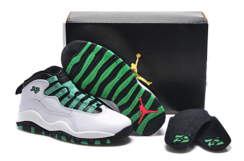 New Air Jordan 10 GS Verde 2015