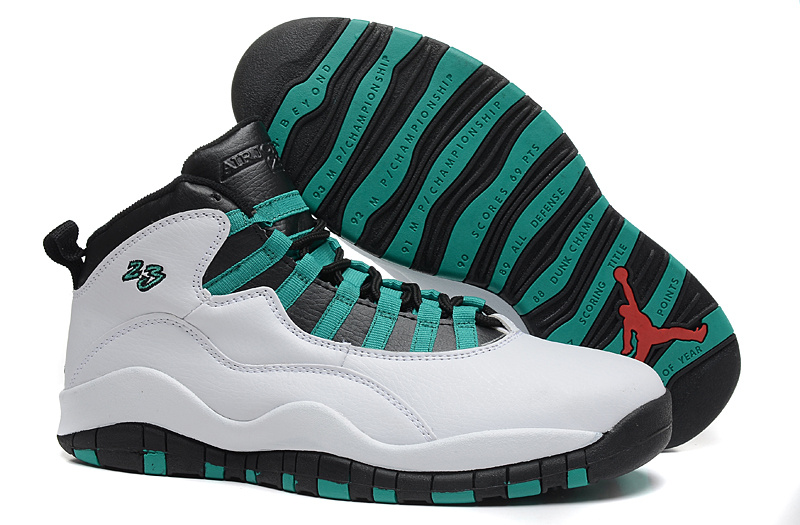 New Air Jordan 10 Retro Verde 2015