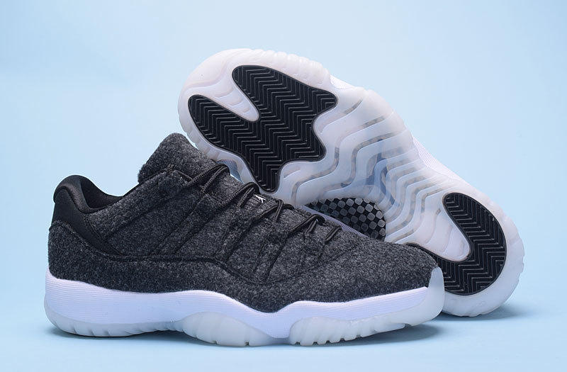 New Air Jordan 11 Low Wool