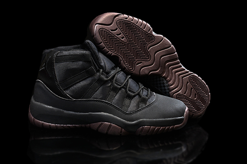 New Air Jordan 11 Matte Custom All Black