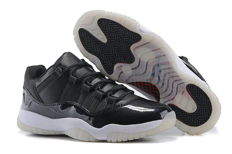 New Air Jordan 11 Retro Low 72 10 Black White New Sale