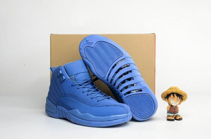 New Air Jordan 12 Blue Suede 2016
