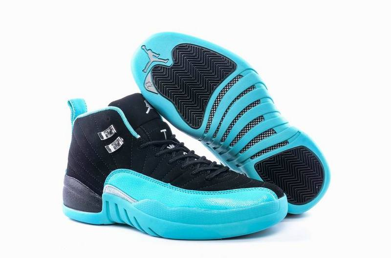 New Air Jordan 12 GS Hyper Jade Black Metallic Silver Hyper Jade