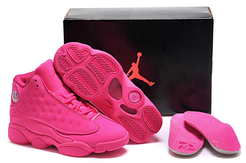 New Air Jordan 13 GS All Pink