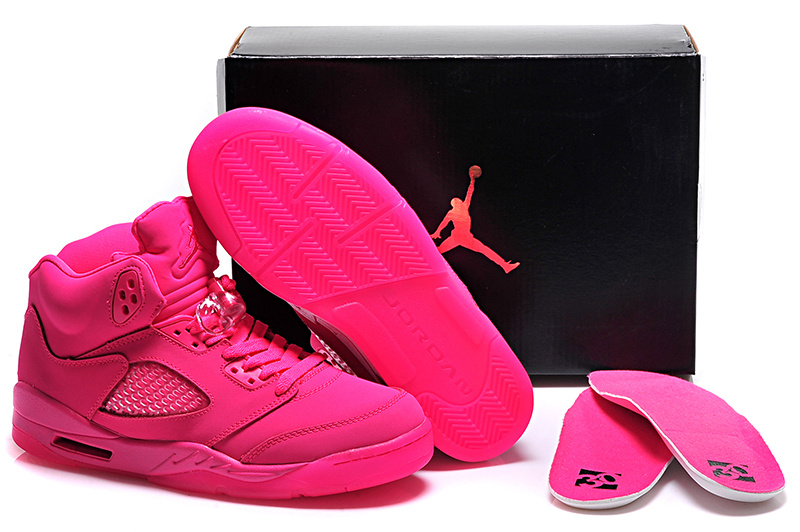 New Air Jordan 5 GS All Pink