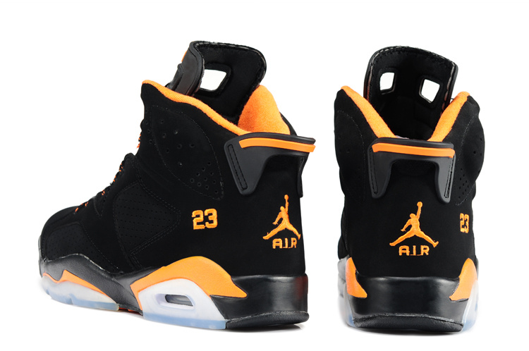 air jordan 23 black and orange