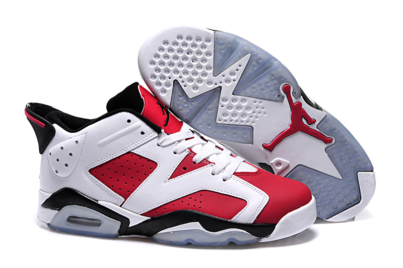 New Air Jordan 6 Low GS Carmine 2015