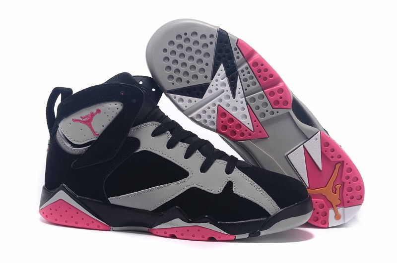New Air Jordan 7 GS Fuchsia Flash