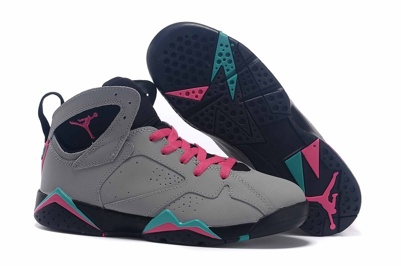 New Air Jordan 7 GS Miami Vice