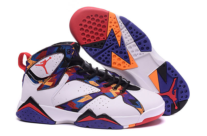New Air Jordan 7 Retro Bg Gs Nothing But Net