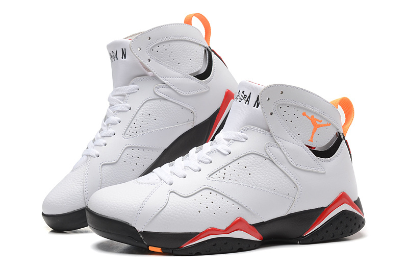 air jordan retro 7 orange black