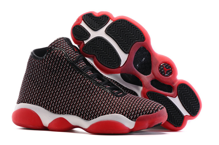 New Air Jordan Horizon Future AJ13 Bred Black Red Shoes