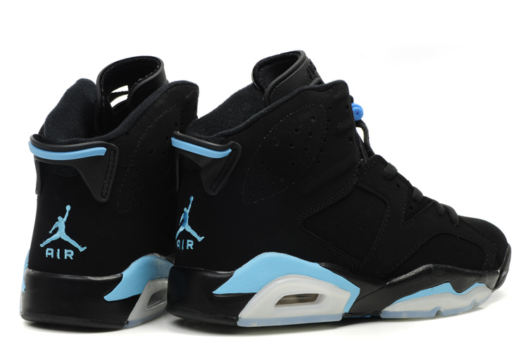 Original Jordan 6 Black White Blue